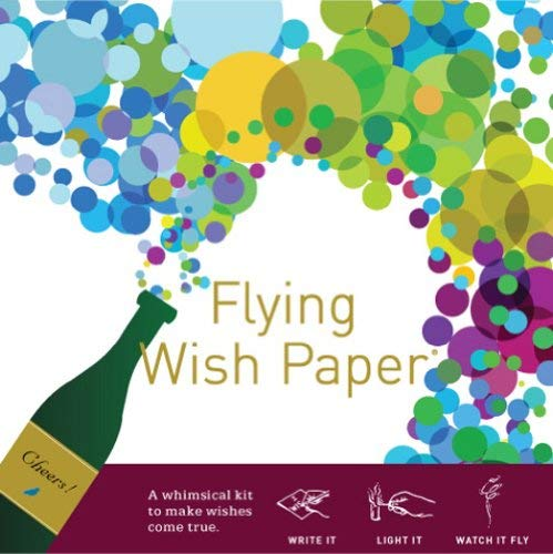 Flying Wish Paper Champagne Dreams, Large from Flying Wish Paper