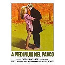 Barefoot in the Park Poster Movie Italian 11x17 Robert Redford Jane Fonda Charles Boyer