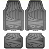 Armor All 78841 4-Piece Grey All Season Rubber Floor Mat