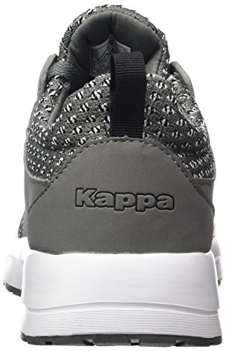 Kappa Adulto Unisex Vassoio Ii Sneaker Grigio (1611 Grigio / Nero)