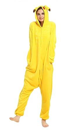 bb8e32ad8 Yimidear® Unisex Cálido Pijamas para Adultos Cosplay Animales de Vestuario  Ropa de Dormir Halloween y