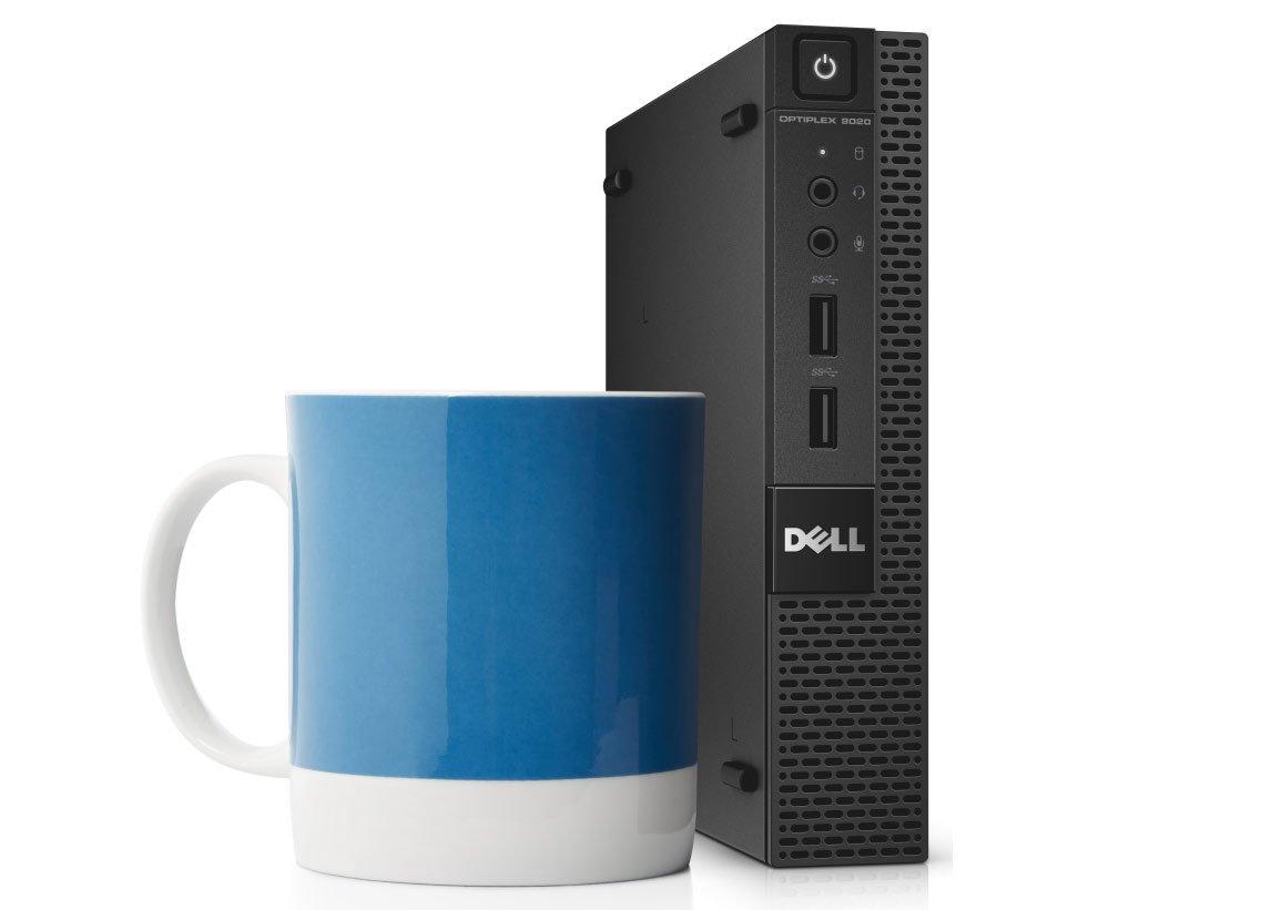 Dell Optiplex 3020M Micro Desktop Business Mini Tower PC (Intel Quad Core i5-4590T, 8GB Ram, 500GB SSHD, WIFI, Bluetooth, USB 3.0) Win 10 Pro (Renewed)
