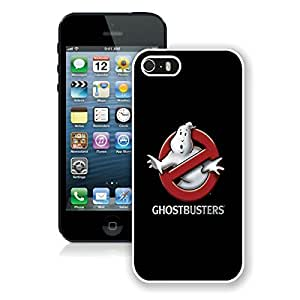 Ghostbusters Movie Logo White Cool Photo Custom iPhone 5S Phone Case