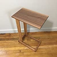 Black Walnut and Oak Accent Table