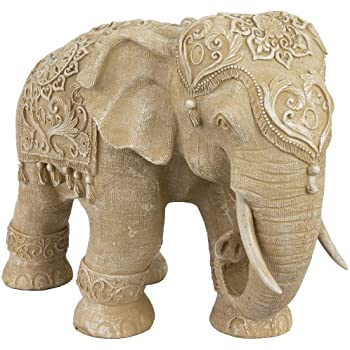 oriental furniture 20 ivory elephant statue home kitchen. Black Bedroom Furniture Sets. Home Design Ideas