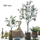 "Bird Fiy 28"" Artificial Olive Plants Branches"