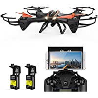 DBPOWER UDI U842 Predator WiFi FPV Drone with HD Camera & Bonus Battery