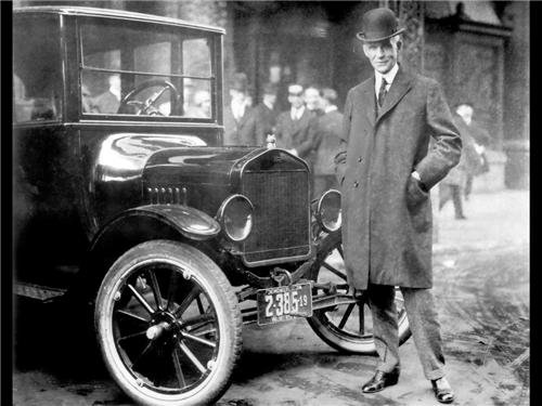 HENRY FORD GLOSSY POSTER PICTURE PHOTO model t detroit car vehicle historic ()