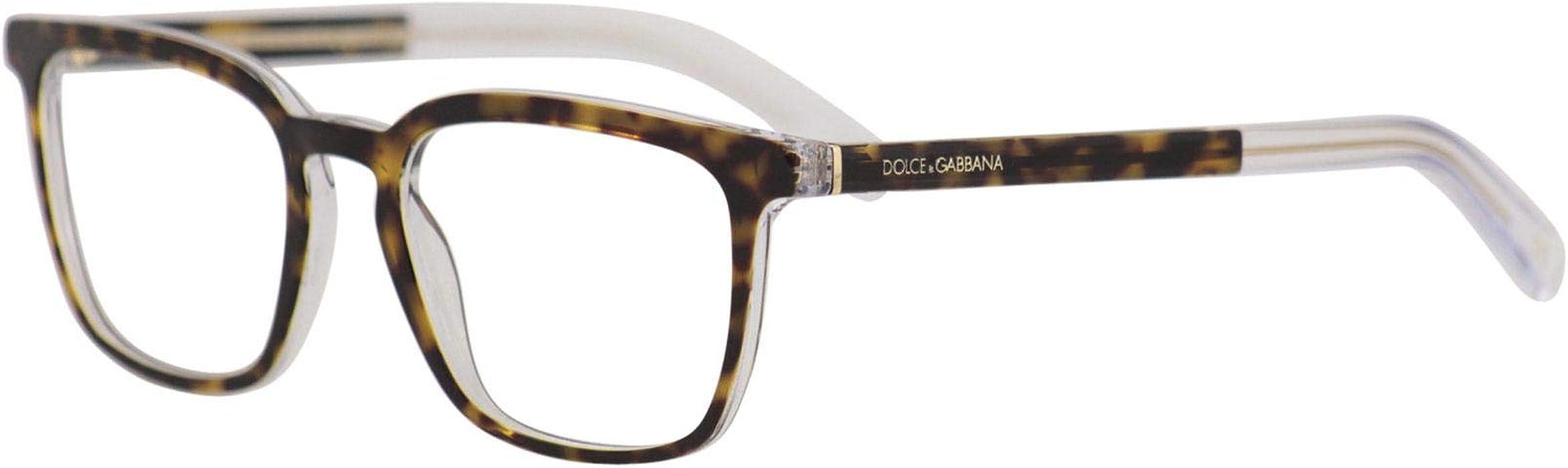 957d6c7499e5 Dolce   Gabbana ANGEL DG 3307 HAVANA CRYSTAL 53 19 145 men eyewear frame