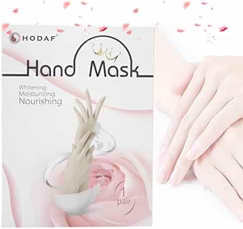 Dermrelief Cotton Gloves For Beauty Dry Hands Eczema Dermatitis