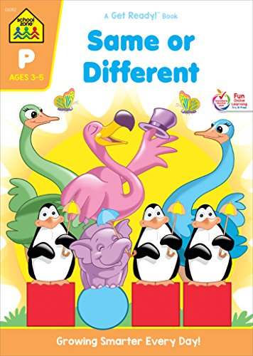 Same or Different Workbook Grade P (Get Ready Books)