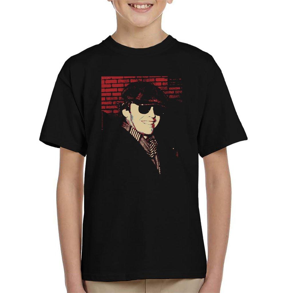 POD66 Jack Nicholson 1976 Sunglasses Cap and Scarf Kid's T-Shirt