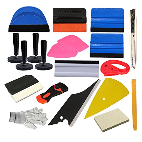 Car vinyl wrap tool window tint kit for vinyl film tinting for Window replacement tools
