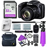 Canon PowerShot SX530 HS Digital Camera with 32GB SD Memory Card + Accessory Bundle