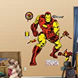FATHEAD Classic Iron Man Graphic Wall Décor