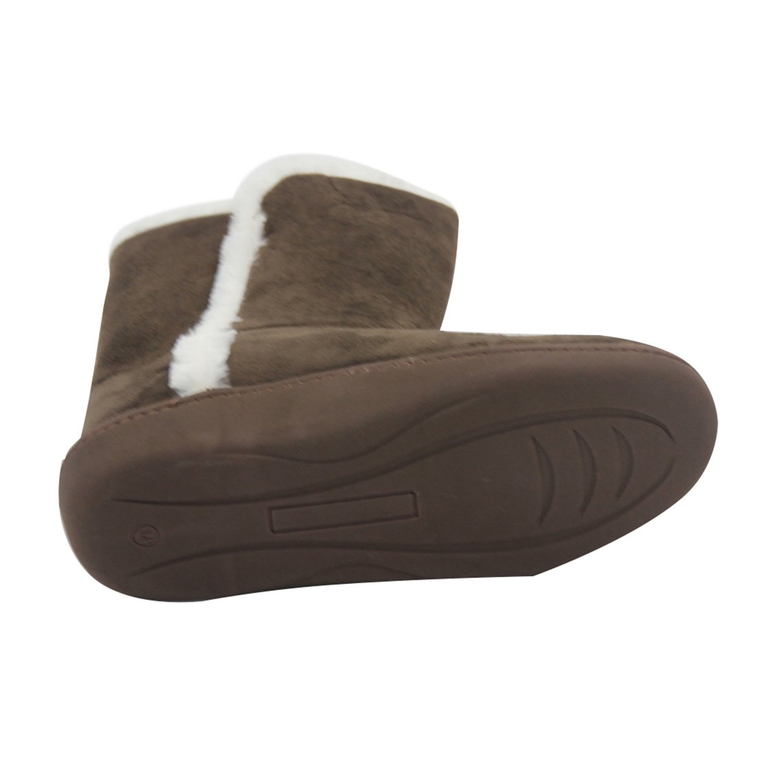 Forfoot Women's Winter Warm Soft Fleece Suede Indoor Slipper Boots House