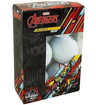 Marvel 6-Pack Golf Balls