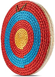 KAINOKAI Traditional Hand-Made Straw Archery Target,Arrows Target for Recurve Bow Longbow or Compound Bow