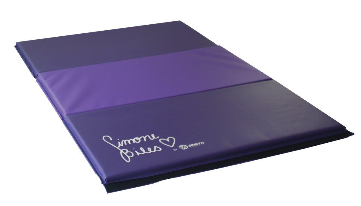 Simone Biles 4 x 6パネル体操マット B01N2L6A58
