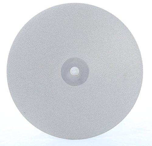 6'' 100Grit Diamond PSA Backing Lapidary Faceting Flat Lap by Han's