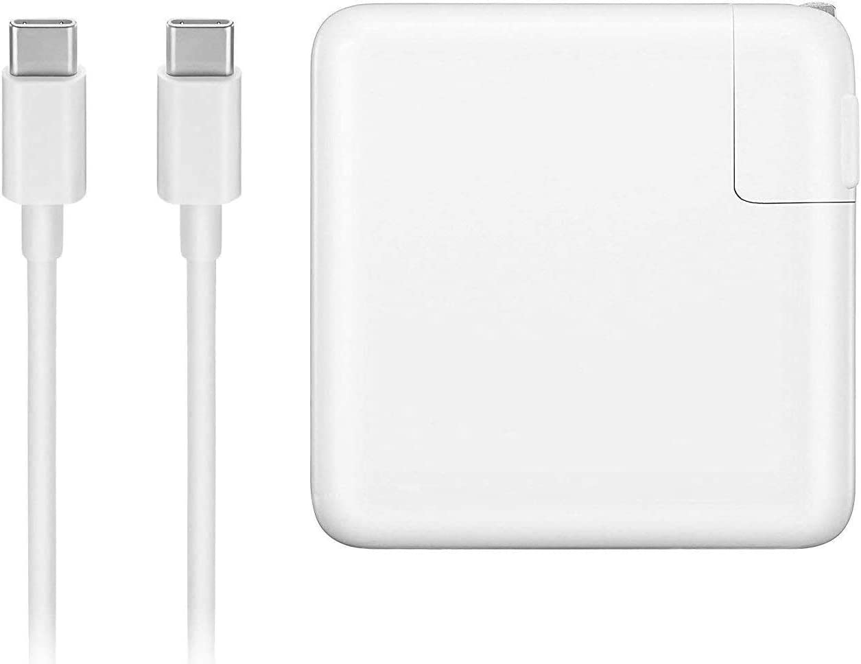 96W USB C Power Adapter Charger with USB-C Cable for 2019 MacBook Pro 16 inch 15 inch 13 inch, 2018 MacBook Air Retina 16 inch and More