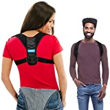 VIBO Care Posture Corrector Clavicle Support Brace Device Improve Bad Posture Thoracic Kyphosis Upper Back and Neck Pain Relief + Video on How to Wear Comfortably