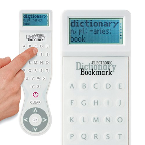 Electronic UK Dictionary Bookmark - Color: White