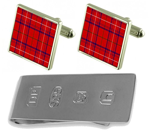 Tartan Tartan Clan Cufflinks Bond Clip Clan Money James Rose amp; qg1TSq