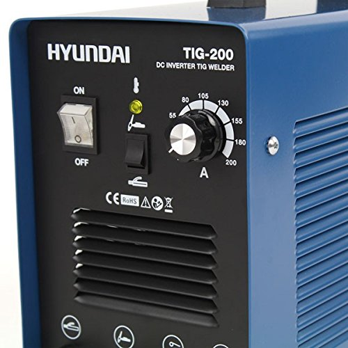 Hyundai TIG-200 Soldadora 230 V, Azul Marino y Negro: Amazon.es: Bricolaje y herramientas