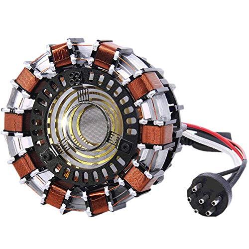 Hvlystory DIY Arc Reactor Lamp Kit Or Builted Model LED Flash Light Set