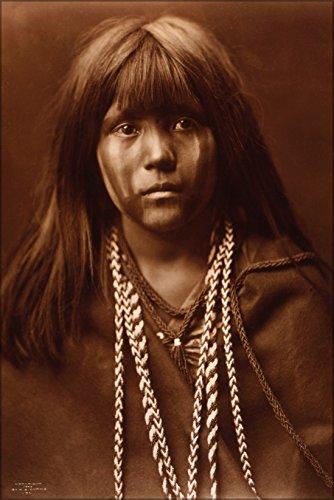 24x36 Poster . Mojave Girl Native American Indian Girl 1903 ()