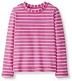 Hanna Andersson Girls Long-Sleeve Rash Guard Swim Shirt Power Pink-120