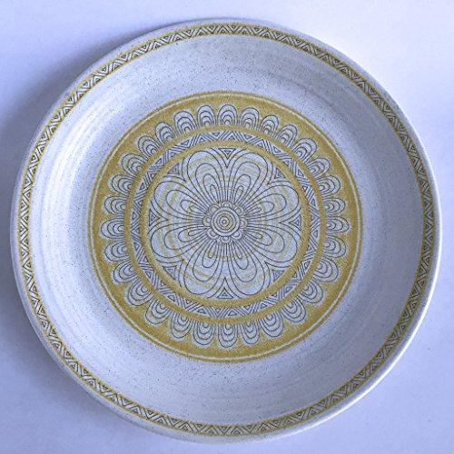 Franciscan Hacienda Earthenware - Franciscan Dinner Plate Hacienda Gold 10 1/2