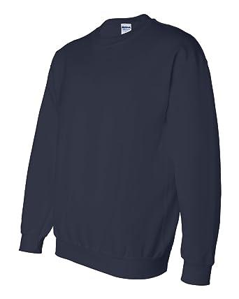 70c7d3d4 Amazon.com: Gildan-12000 Adult Ultra Blend Crewneck Sweatshirt (Navy ...
