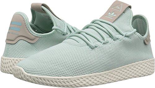 Adidas Tennis Heels - adidas Originals Women's PW Tennis HU W, Ash Green/Ash Green/Ash Grey, 5 Medium US