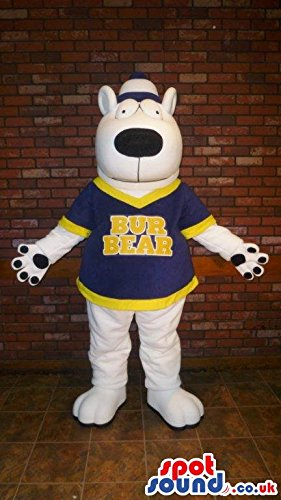 Mascotte SpotSound Amazon de oso panda, color negro y blanco ...