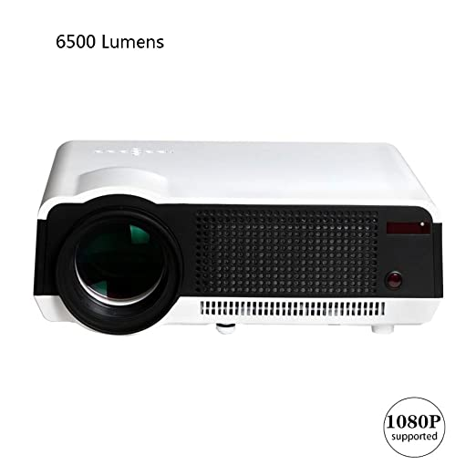 AINGOL 6500 lúmenes WiFi 1080P Video apoyados proyector, Teatro ...