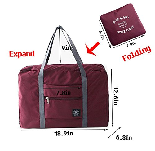 RomWell Travel Duffel Bag Foldab...