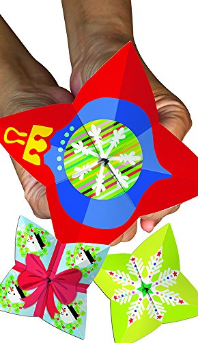 Creative Teaching Press Happy Holidays Cootie Catchers, Red (1550)