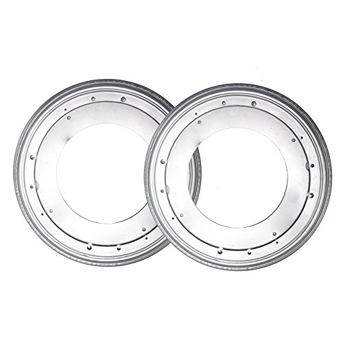 Fasmov 12-Inch Lazy Susan 5/16 Thick Turntable Bearings,Pack of 2