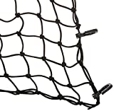 "PowerTye 50152 Black 15""X15"" Cargo Net featuring"