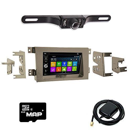 DVD GPS Navigation Bluetooth Radio and Dash Kit for Honda Ridgeline 2005-2014 with Backup Camera ()