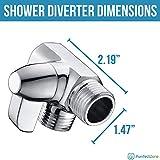 Purrfectzone Shower Arm Diverter for Hand