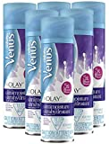 Gillette Venus with Olay UltraMoisture Violet Swirl Women's 6oz Shave Gel - Pack of 6