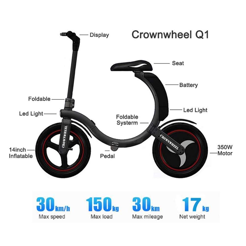 Amazon.com: Electric Scooter Folding Electric Adult Mini ...