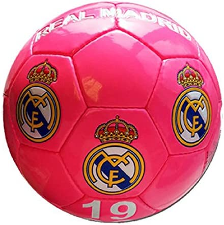 Real Madrid – Gran de balón de fútbol de Real Madrid, color rosa ...