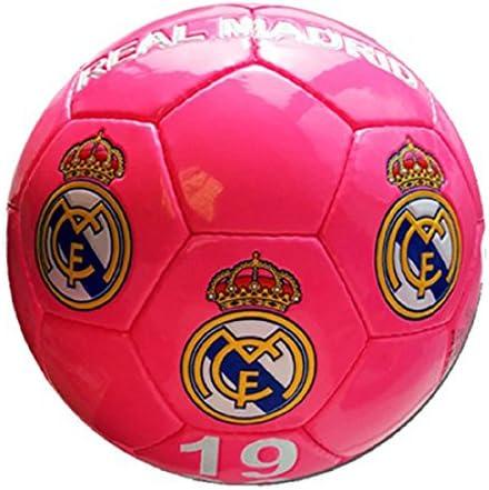 Real Madrid – Gran de balón de fútbol de Real Madrid, color rosa ...