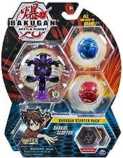 BAKUGAN Starter Pack Darkus Clopter