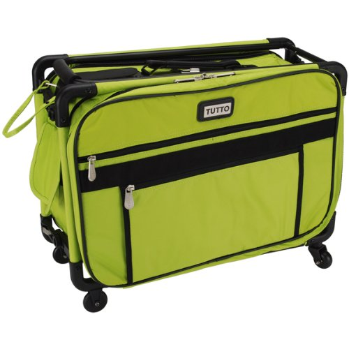 TUTTO Machine On Wheels Case 20″X13″X9″-Lime