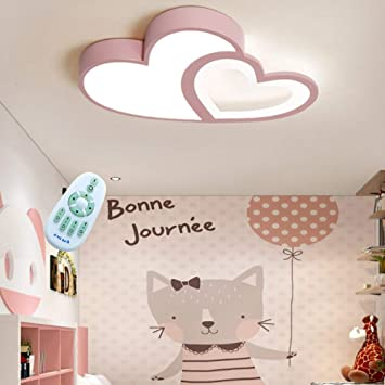Led Deckenlampe Kreative Modern Romantisch Designer Deckenleuchte Kinderzimmer Lampe Herzform Acryl Deko Licht Madchen Junge Deckenlicht Dimmbar Mit Fernbedienung Schlafzimmer Hausleuchten Lampe Rosa Amazon De Baumarkt